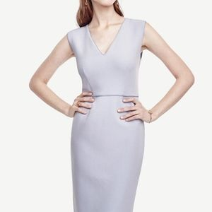 Ann Taylor Doubleweave Sheath Dress
